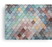 Pastel Scales  Canvas Print