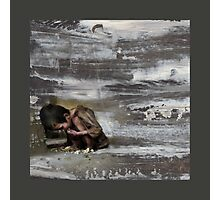 Not a tear shed... too busy on eBay - oil painting Photographic Print