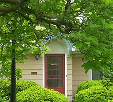 Doorway Framed in Green by Kathleen Brant