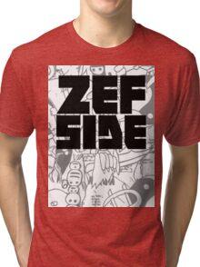 Graffiti Design Tri-blend T-Shirt
