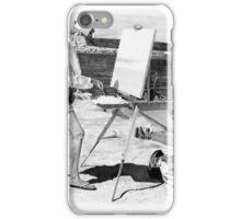 Painting Rock Harbor iPhone Case/Skin