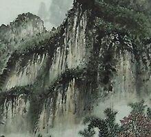 Chinese Art - Landscape by Iskanders