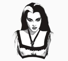 Lily Munster Kids Tee