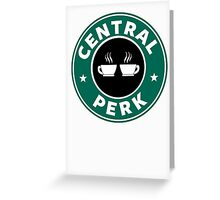 Central Perk Greeting Card