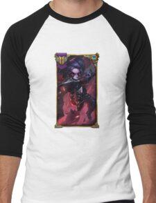 Noxus Poppy (With Challenger border + Mastery 7 ) Men's Baseball ¾ T-Shirt