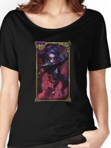 Noxus Poppy (With Challenger border + Mastery 6 ) Women's Relaxed Fit T-Shirt