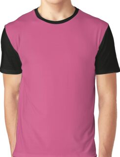 Pink Yarrow | Pantone Fashion Color Spring : Summer 2017 | Solid Color Graphic T-Shirt