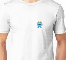 Little Blue Pixel Monster Unisex T-Shirt