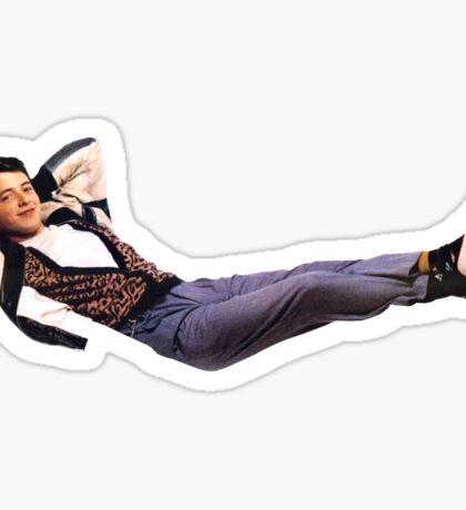 Ferris Bueller - Leisure Rules Sticker