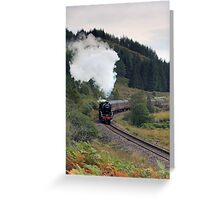 The Jacobite Steam Train Greeting Card