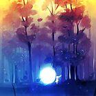 night falls by Lina Nguyen