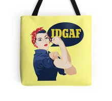 IDGAF Tote Bag