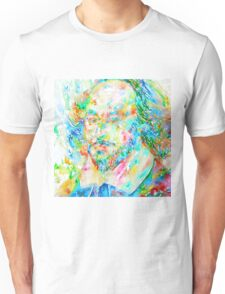 WILLIAM SHAKESPEARE watercolor portrait Unisex T-Shirt