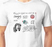halsey tattoos Unisex T-Shirt