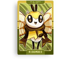 Ribom Bee - Pokecember #6 Canvas Print