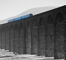 Train at Ribblehead by Billlee
