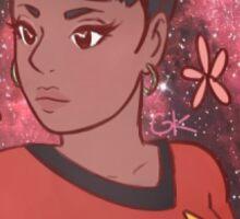 Space Queen Uhura Sticker