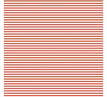 Flame Stripes Photographic Print