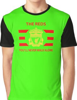 Liverpool - Ynwa - The Reds Graphic T-Shirt