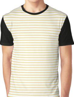 Primrose Yellow Stripes Graphic T-Shirt