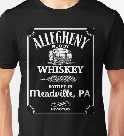 Whiskey Logo Unisex T-Shirt