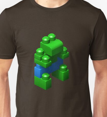 3D Green Giant Unisex T-Shirt