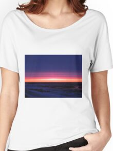 Sublime Seaside Sunset Women's Relaxed Fit T-Shirt