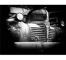 Old Dodge truck Photographic Print
