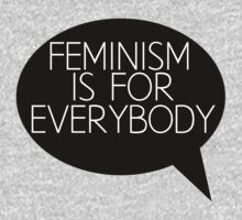 Feminism is for everybody Baby Tee