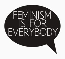 Feminism is for everybody Kids Clothes
