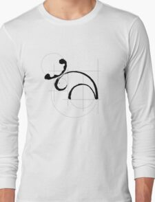 Vitruvian Moose Long Sleeve T-Shirt