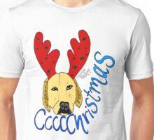 Christmas Reindeer Dog Unisex T-Shirt