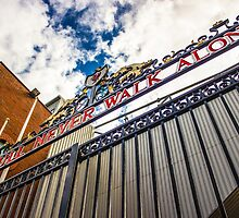 Shankly Gates - Anfield by Paul Madden