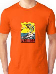 Florida FL State Vintage Travel Decal Unisex T-Shirt