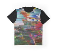 Dreams of Reality - Glitch Art Graphic T-Shirt
