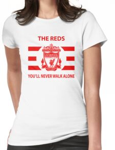 Liverpool - Ynwa - The Reds - Liverpudlian Womens Fitted T-Shirt