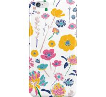 Bright Spring Flowers iPhone Case/Skin