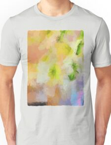 Abstract Lilies in a Vase Unisex T-Shirt