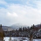 Winter in the Mountains by DanByTheSea