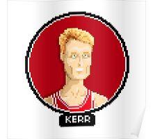 Steve Kerr Chicago Bulls Poster