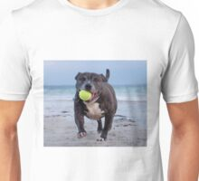 Dog With Tennis Ball Unisex T-Shirt
