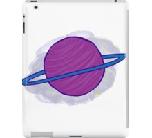 Lonely Ring Planet iPad Case/Skin