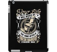 Barber T-Shirt iPad Case/Skin