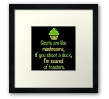 Random Inspirational Quote of the Day Framed Print