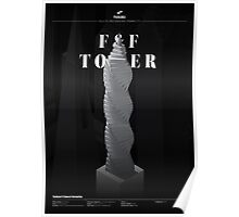 F&F Tower - Black Edition Poster