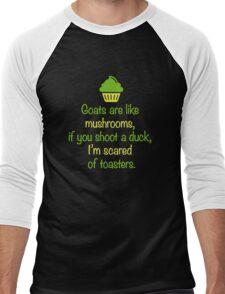 Random Inspirational Quote of the Day Men's Baseball ¾ T-Shirt