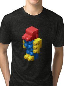 3D Robot Tri-blend T-Shirt