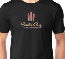 Santa Cruz California 3 Surfboards Unisex T-Shirt