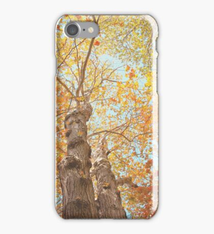 Autumn Inkblot iPhone Case/Skin