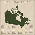 National Parks of Canada by FinlayMcNevin